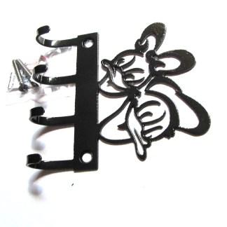 metal donald daisy wall hooks
