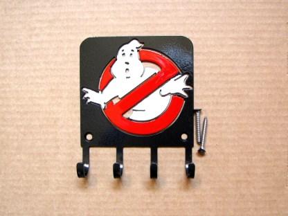 metal ghostbusters logo wall hooks