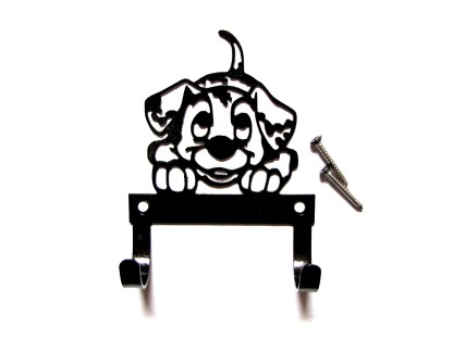 metal 101 dalmatian leash hook, leash holder