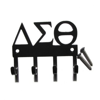 sorority delta epsilon theta metal wall hooks