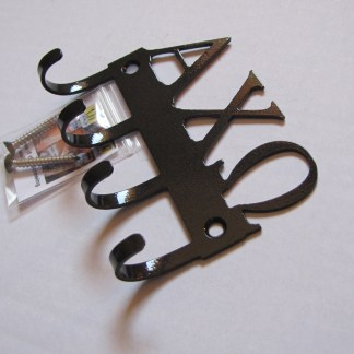 sorority alpha chi omega metal wall hooks