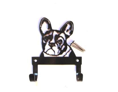 metal french bulldog leash hooks, leash holder