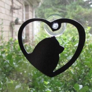 metal chow window art window ornament
