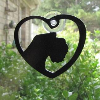 metal griffon window art window ornament