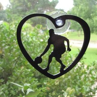 window art Basketball