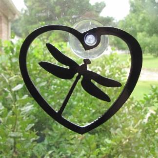 window art dragonfly