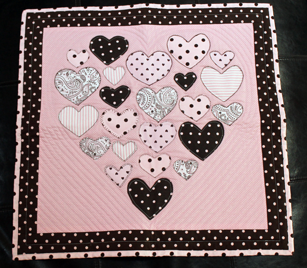 Small quilt for Piper