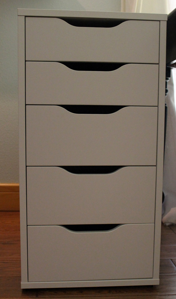 alex cabinet from Ikea