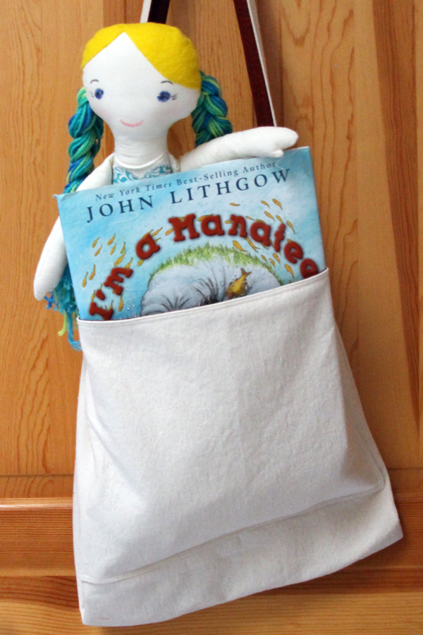 handy tote with mermaid