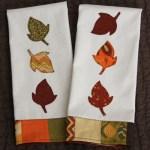 DIY Autumn Tea Towel