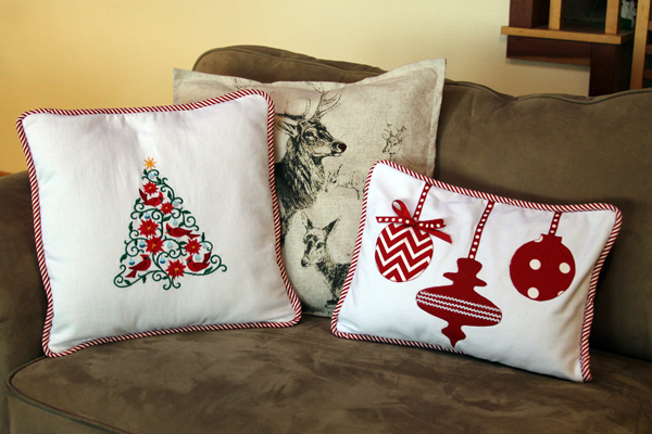 Christmas Ornament Pillow