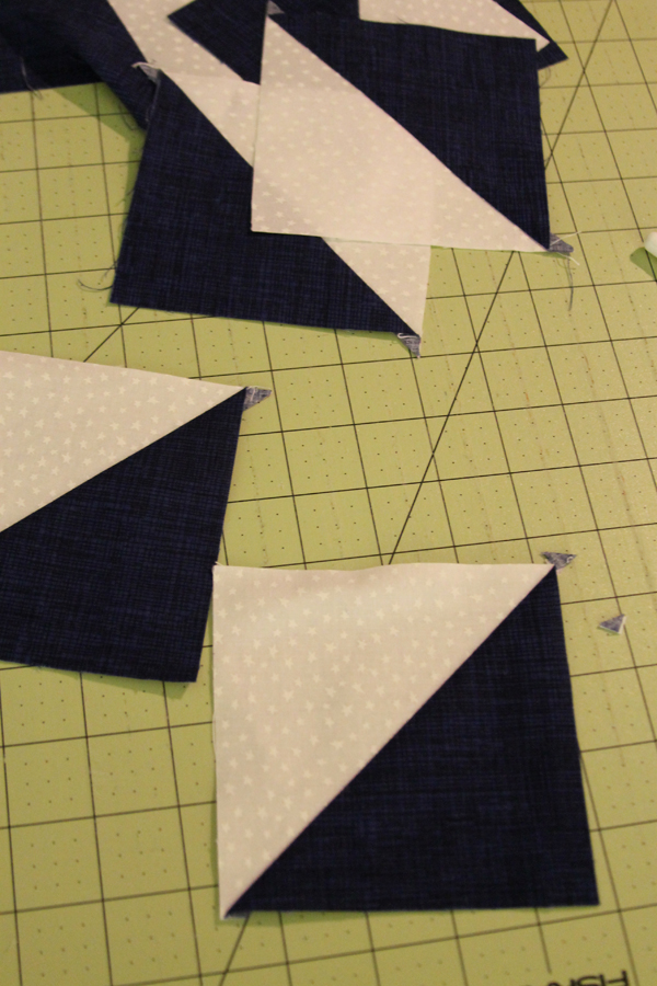 Block Five -- January -- Quilt as you Go