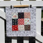 Block Ten — June — Quilt as You Go