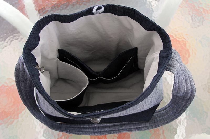 Pockets in travel bag