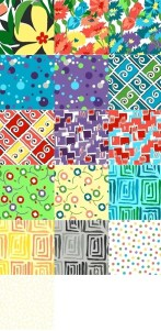 Revved Up Retro fat quarters
