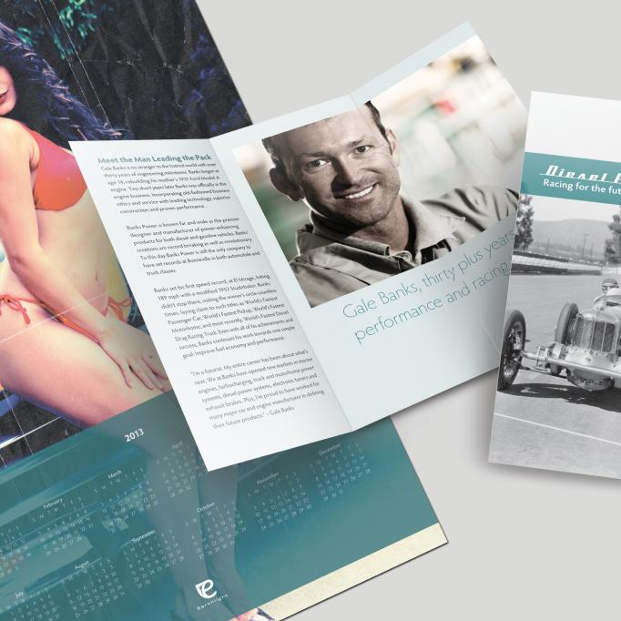 Tri-fold Brochure with Centerfold