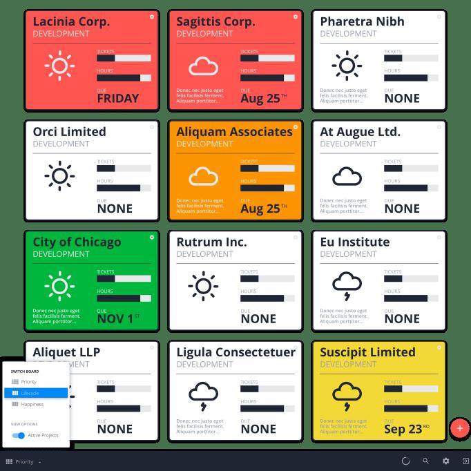 Web App Design Mockup