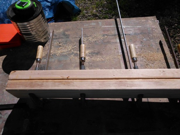 how to build table legs or posts from 2x4s SANY0545