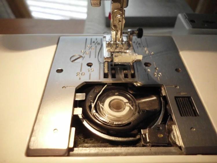 How to Use Elastic Thread to Make Smocked Fabric SANY0767