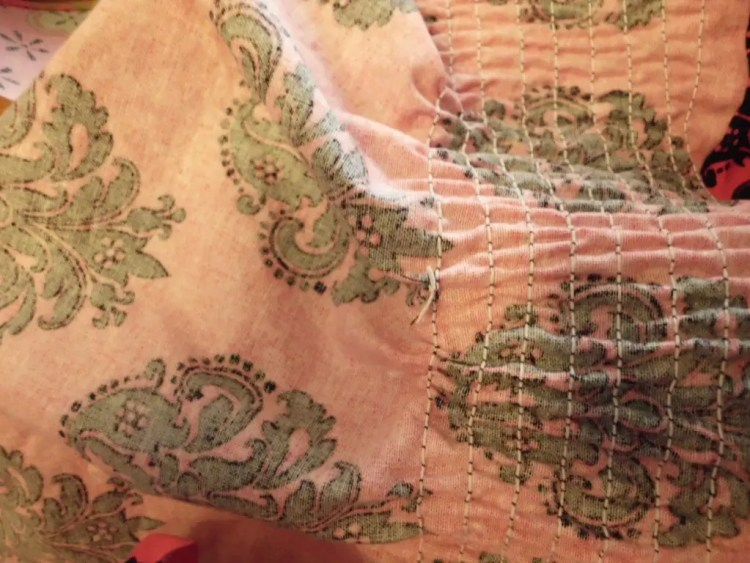 How to Use Elastic Thread to Make Smocked Fabric SANY0775