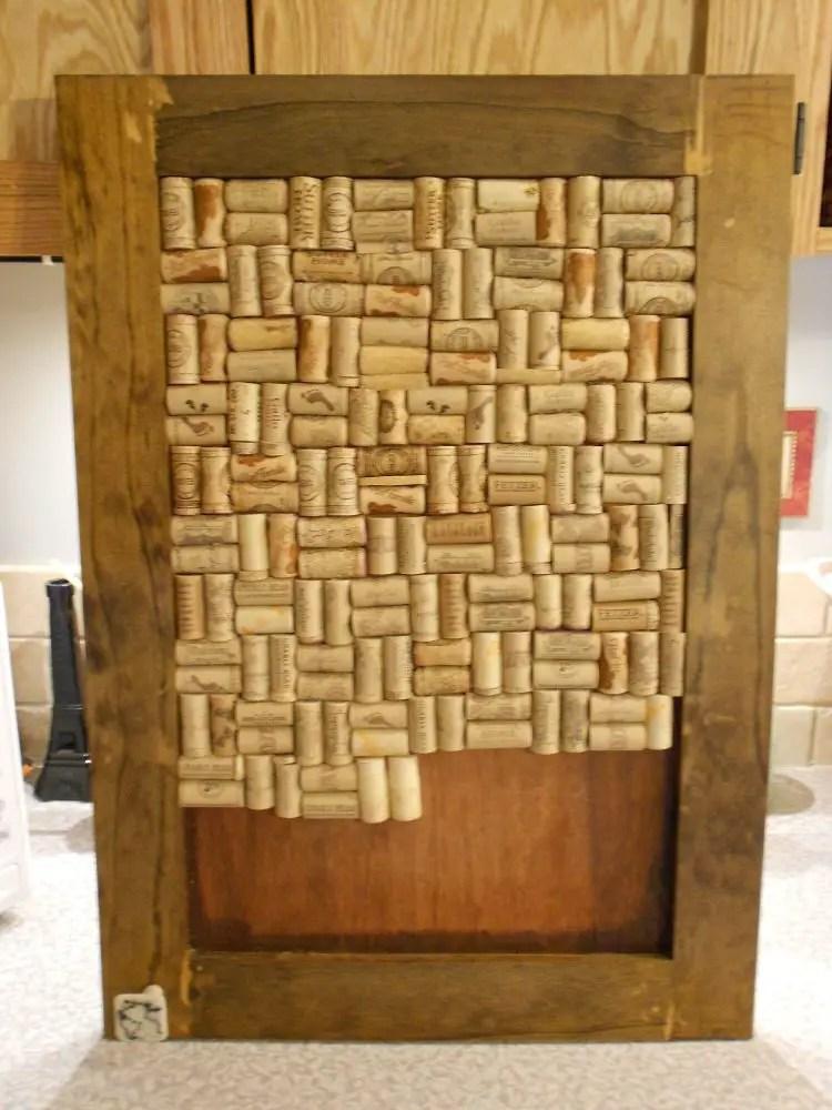How to Make a Framed Cork Board with Wine Bottle Corks