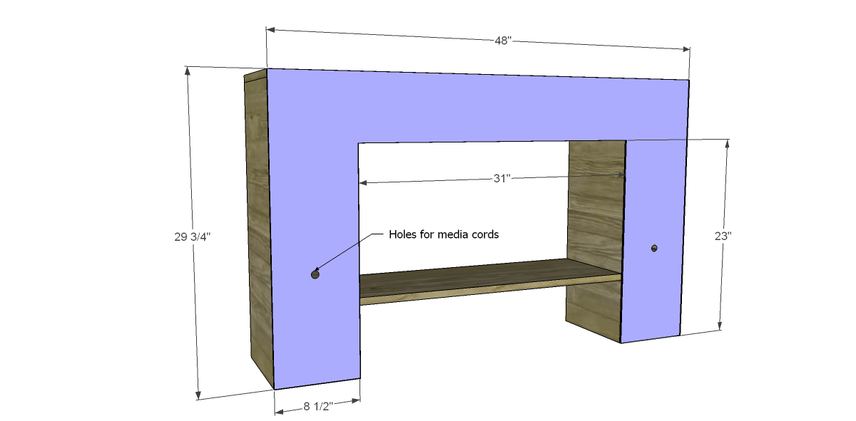 Free Furniture Plans To Build A Hutch For A Desk Designs