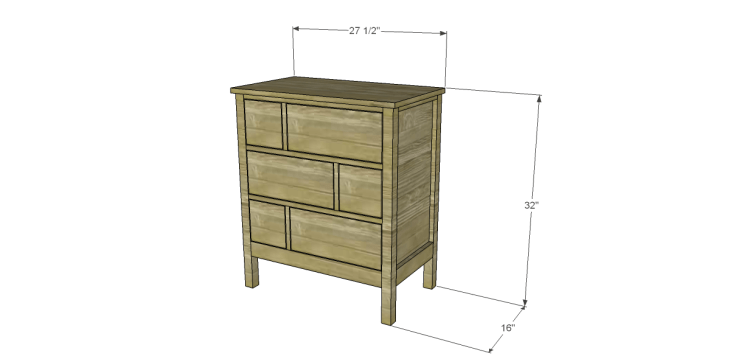 plans to build the ames chest