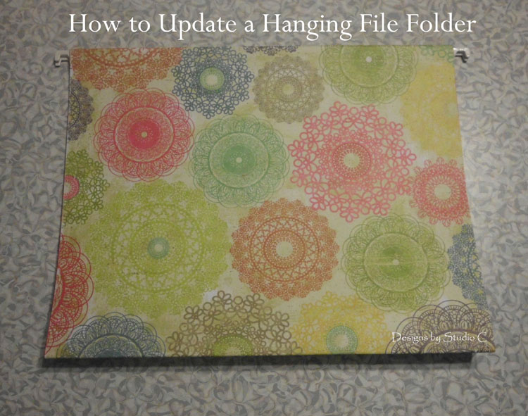 How to Update Hanging File Folders SANY1302