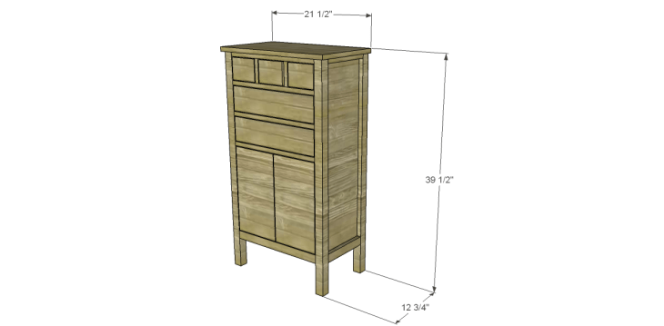 Plans to Build a Grandin Road Inspired Chloe Chest