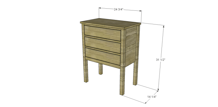 Plans to Build a Grandin Road Inspired Eliza Chest
