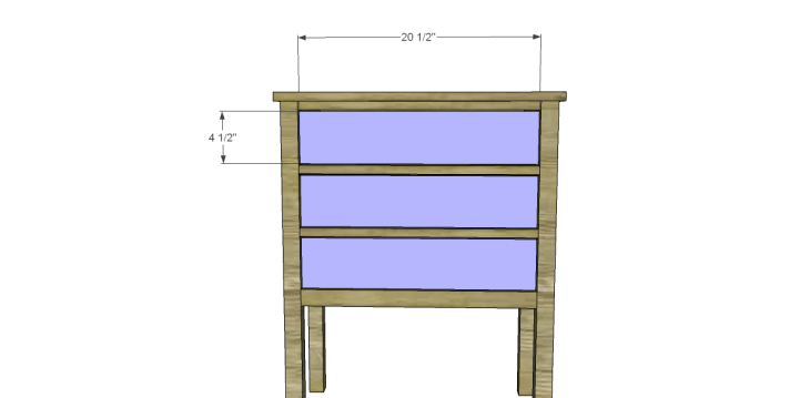 Plans to Build a Grandin Road Inspired Eliza Chest_Drawer Fronts