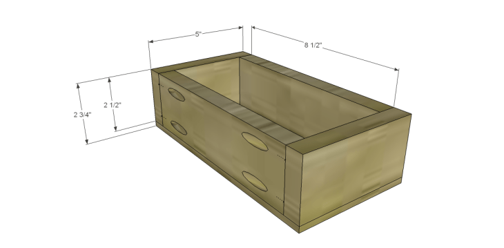 Plans to Build a Grandin Road Inspired Chloe Chest_Sm Drawer