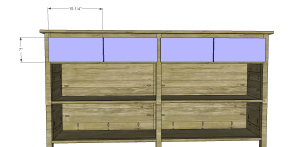 Plans to Build a Slim Sideboard 10