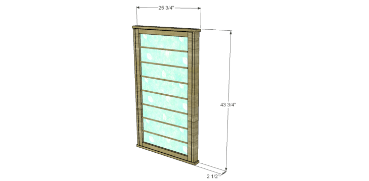 Free Plans to Build a Beadboard Drying Rack Med. Rack