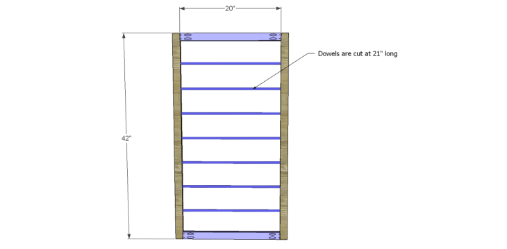 Free Plans to Build a Beadboard Drying Rack Med_Doors
