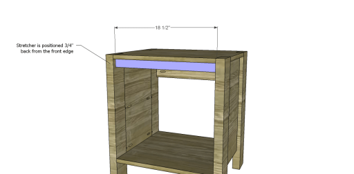 Nightstand_Front Stretcher