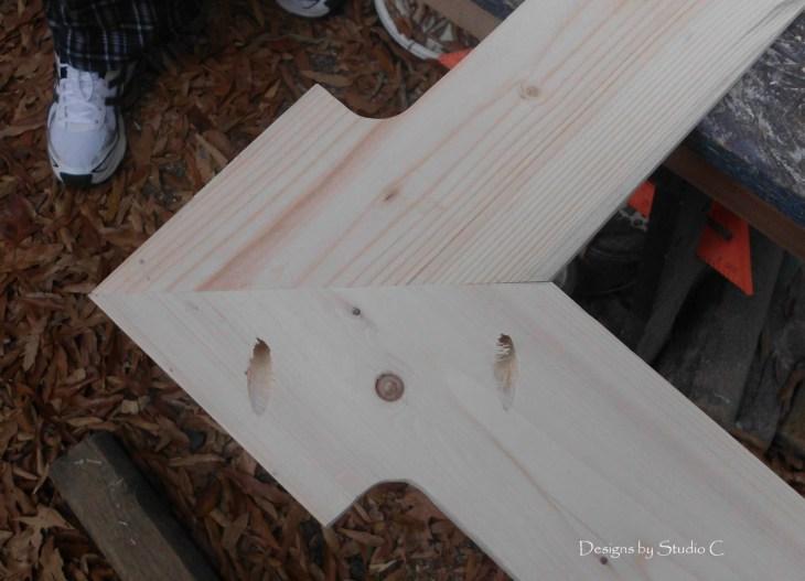 Free Plans to Build a Joss & Main Branford Mirror Frame SANY1666