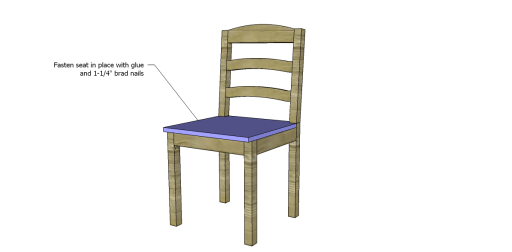 Free Plans to Build a Dining Chair 1_Seat 2
