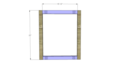 Free Plans to Build an Apple Art Easel_Frame