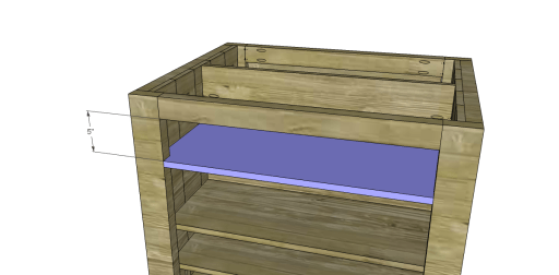 Island_Drawer Shelf 2