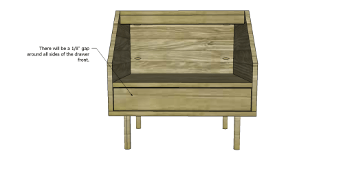 Table_Drawer Front