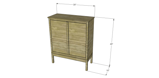 Free Plans to Build a Viva Terra Inspired Tradewinds Armoire