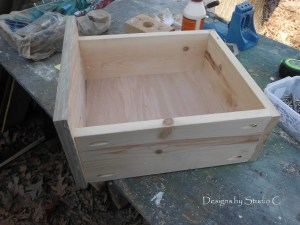 How to Assemble Drawers Boxes Used in My Plans