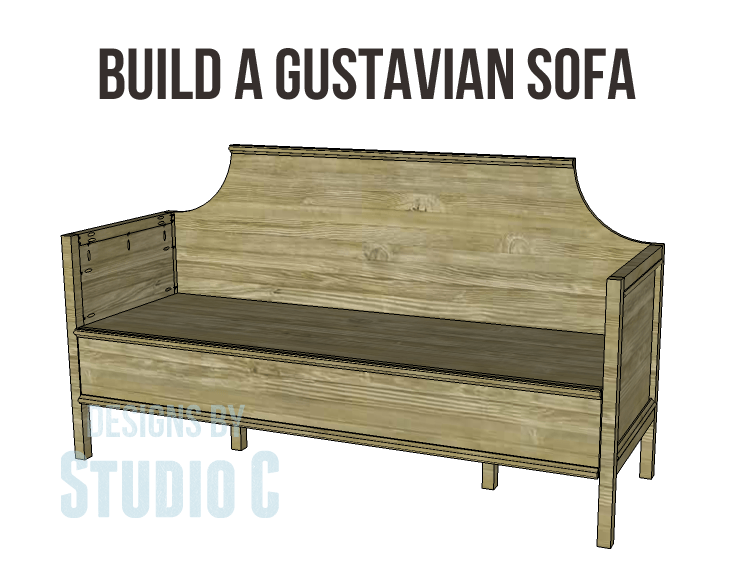 Build A Gustavian Sofa Designs By Studio C