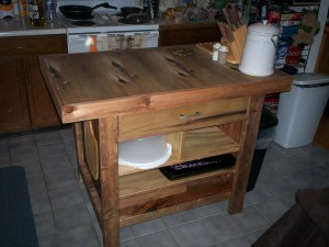 Guy's Fabulous Napa Style Inspired Kitchen Island 100_6308