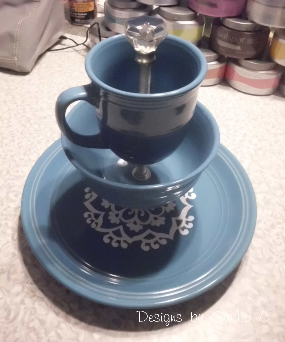 how to make a jewelry u0026 makeup holder with dinnerware u2013 designs by