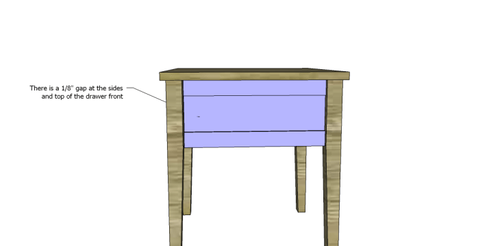 free plans to build a joss main inspired banyan end table_Drawer Front 2