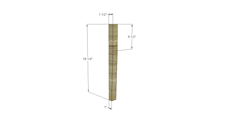 free plans to build a joss main inspired banyan end table_Legs