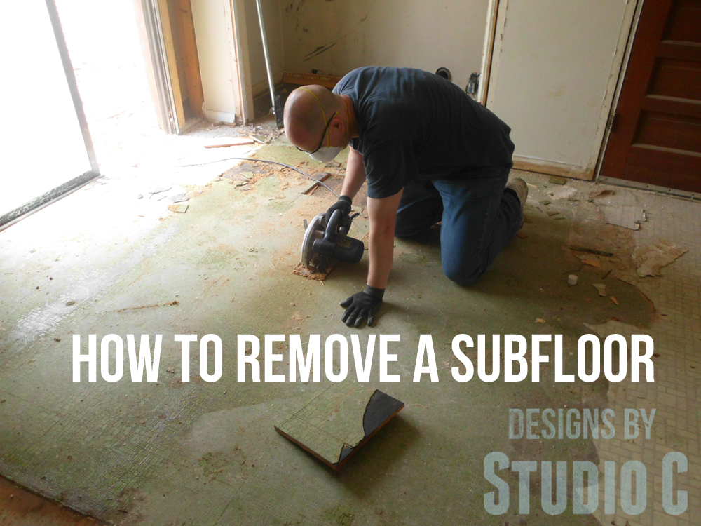 Removing A Damaged Plywood Floor