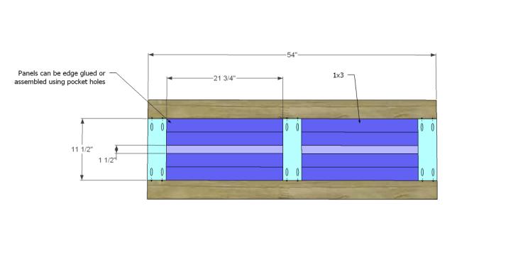 free plans to build a world market inspired garner sideboard_Top 1